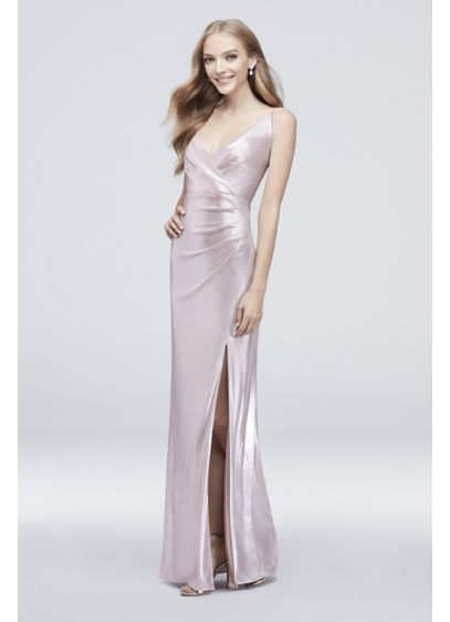 Long Sheath Formal Wedding Dress - DB Studio